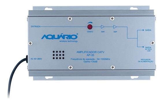 Amplificador De Potência Catv Freqência 54-1000mhz 35db Ap-3