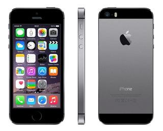iPhone 5s 32gb Cinza Espacial Câmera 8mp De Vitrine Garantia