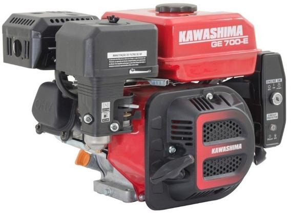 Motor Estacionário A Gasolina 7hp - Part. Elétrica Kawashima