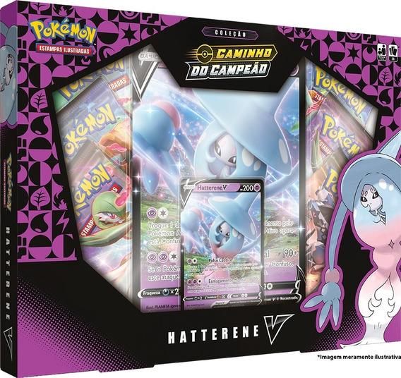 Card Game Pokémon Box Caminho Do Campeão Hatterene V Copag