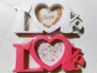 Portaretrato San Valentín 14 De Febrero Rosa O Blanco