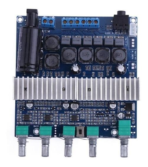 Placa Amplificador 2.1 Premium 50+50+100 = 200w Rms Full