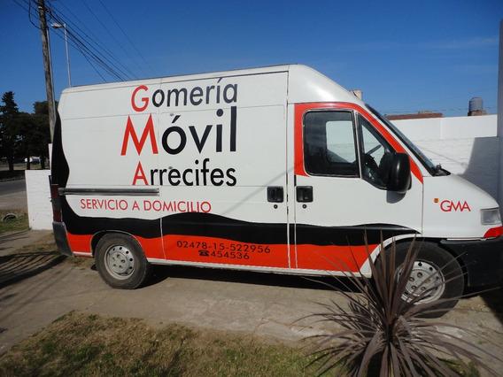 Fiat Ducato Gomeria Movil Completa Para Trabajar