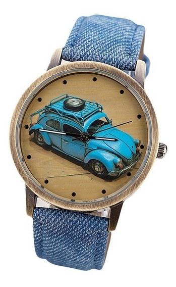 Relógio Personalizado Fusca