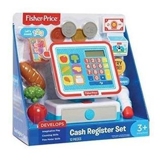 Juego Caja Registradora Fisher Price 12 Piezas 3+ Preescolar
