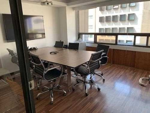Oficina En Renta Polanco,vigilancia, Acondicionada, Metro Ce