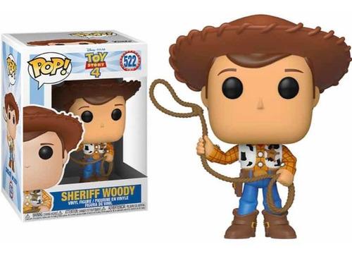 Funko Pop Sheriff Woody Toy Story 4 Disney # 522
