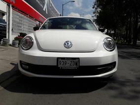 Volkswagen Beetle 2014 Sport Automatico 1dueña Acepto Auto