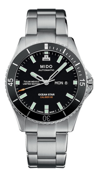 Reloj Mido Ocean Star Tulum Mexico Limited Edition Automatic