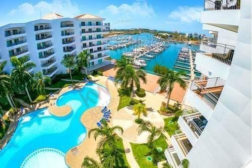 Condominio Con Asombrosa Vista De Marina Mazatlan - Costa Veleros 604a