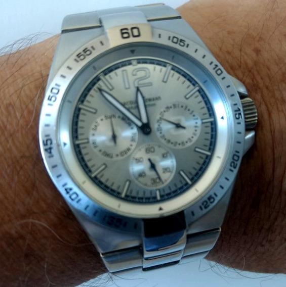 Relógio Jacques Lemans Suíço Original Seminovo