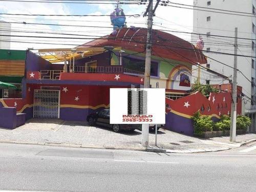 Salão Para Alugar, 600 M² Por R$ 14.900/mês - Parque Da Mooca - São Paulo/sp - Sl0332