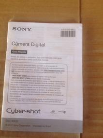Manual Câmera Digital Sony Dsc-wx50 2012