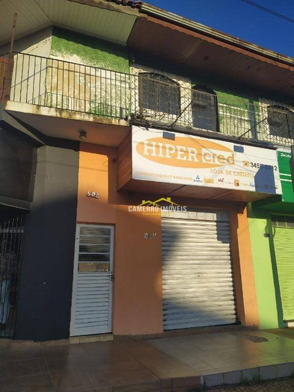 Casa Com 2 Dormitórios Para Alugar, 90 M² Por R$ 1.000,00/mês - Jardim Pérola - Santa Bárbara D