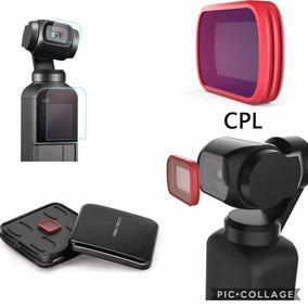 Filtro Cpl Polarizado Pgytech Pra Osmo Pocket + Películas
