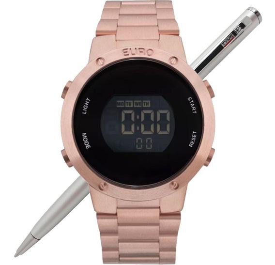 Relógio Euro Feminino Fashion Fit Eubj3279af/4j Nota Fiscal