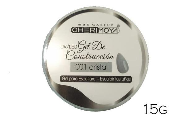 Gel Uv Led Constructor Cristal 001 Cherimoya Uñas 15gr