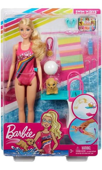 Barbie Dreamhouse Adventures Nadar E Mergulhar Com Pet