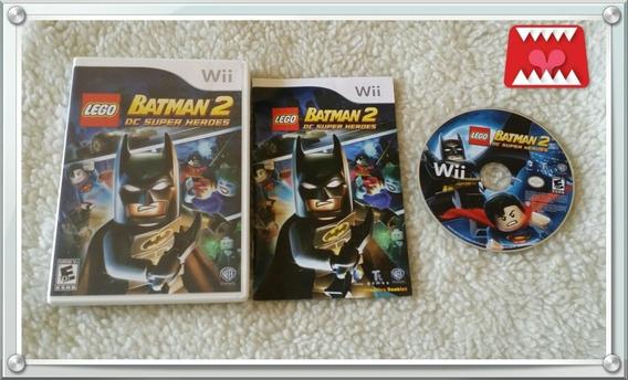 Jogo Lego Batman 2 Dc Super Heroes Nintendo Wii Mídia Física