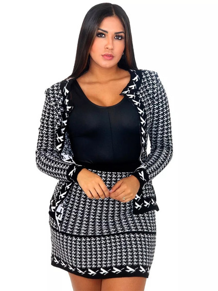Vestidos Blazer Conjuntos Mais De 600 Modelos Disponivel