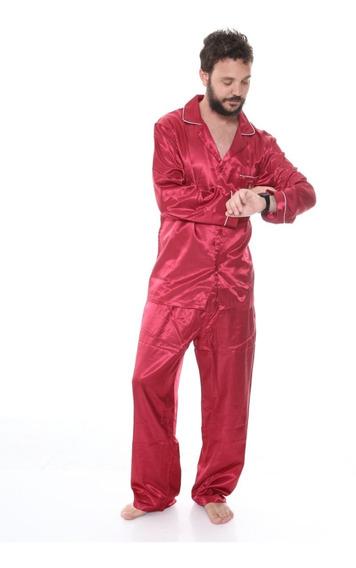 Pijama De Hombre Saco + Pantalon Dia Del Padre 545
