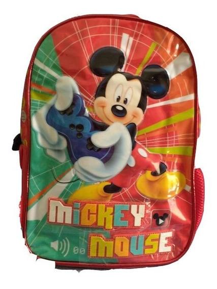 Mochila Mickey Mouse Jardin - Oferta -