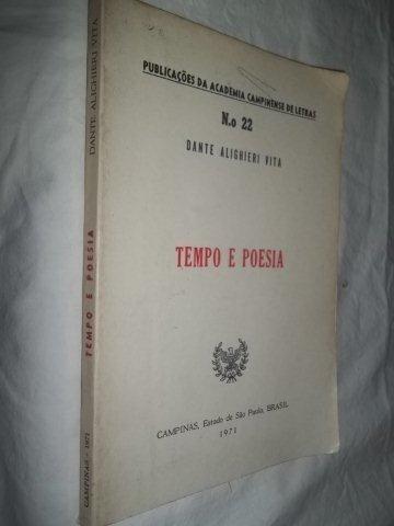 Livro - Tempo E Poesia - Literatura Nacional