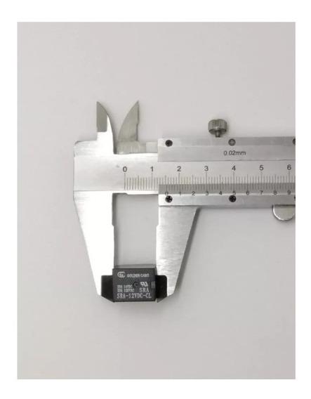 Rele Mini 12v 20a 5 Terminais - Kit 10 Peças