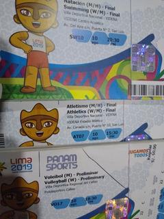Calendario Juegos Panamericanos Lima 2019 Entradas.Entrada Juegos Panamericanos En Mercado Libre Peru