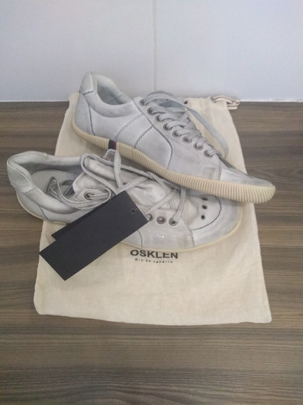 Tênis Osklen Riva Off White Original