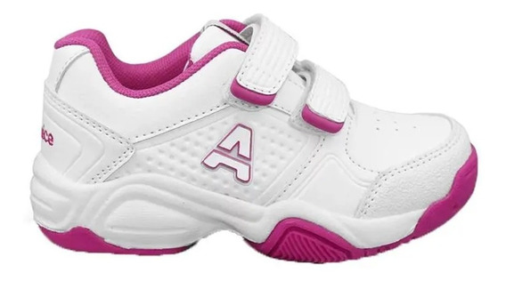 Zapatillas Addnice Baby Classic Beta Abrojo Bco / Fcsia 2100