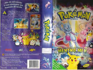 079 Vhs Pokémon O Filme- Raro Em Dvd- Dublado- Infantil