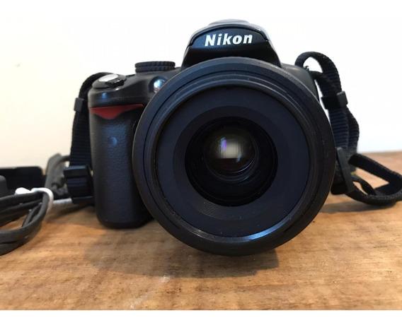 Camera Nikon D5000 + Lente 35mm