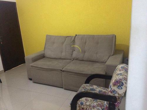 Imagem 1 de 13 de Apartamento Com 2 Dorms, Vila Jockei Clube, São Vicente - R$ 160 Mil, Cod: 1601 - V1601