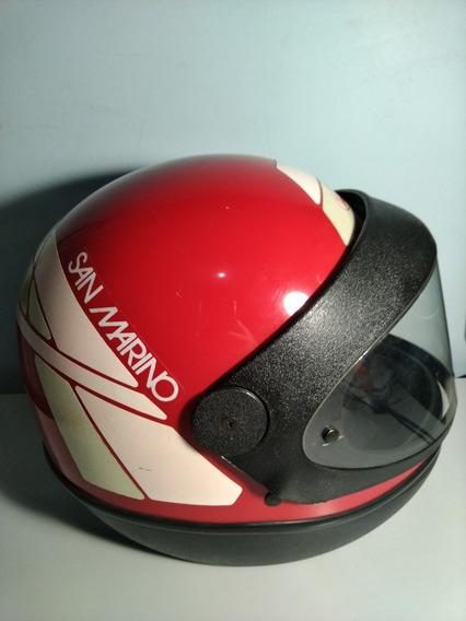 Capacete San Marino Induma Vermelho 56cm
