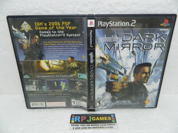 Syphon Filter Dark Mirror Original C Caixa Ps2 Playstation 2