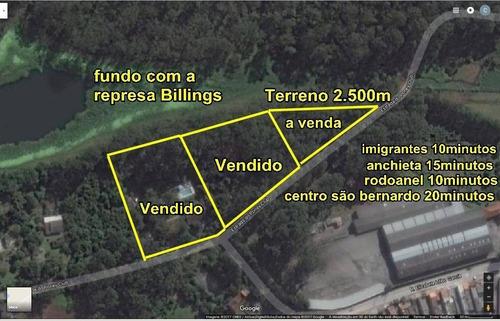 Imagem 1 de 1 de Terreno À Venda, Alvarenga, Sbc/sp - 2000 M² - Te0087