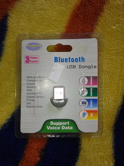 Adaptador Usb Bluetooth Compacto 2.0