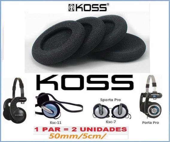 Espuma Foam Do Fone Kos S Porta Pro 2 Unidades Id1983