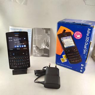 Celular Nokia Asha 205 Dual Chip Original Nokia Gsm Leia