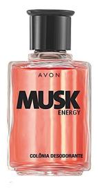 Colónia Desodorante Musk Energy - 90ml