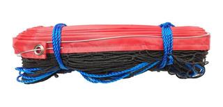 Red Voleibol Embreada Profesional Con Cable De Acero