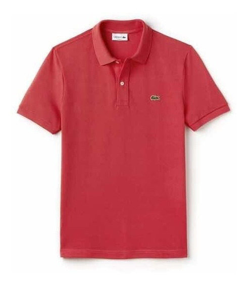 Polo Lacoste L1212 Classic Fit Color Sirop Pink Oiginal