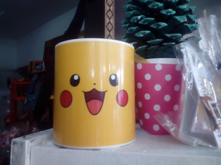5 Tazas Polímero Personalizada Pikachu Pokemon
