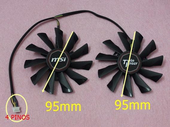 Dual Fan Placa De Video Msi R9 - 290x 290 270x Twin Frozr