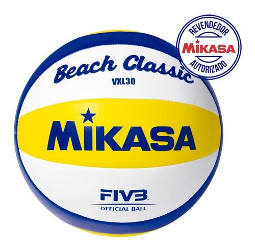 Imagem 1 de 3 de Bola Volei Praia Mikasa Oficial Vxl30 Original Cbv Promoção
