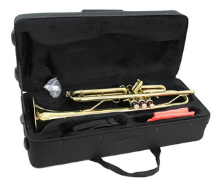 Trompeta Doble Llave Laqueada Sib Profesional Silvertone
