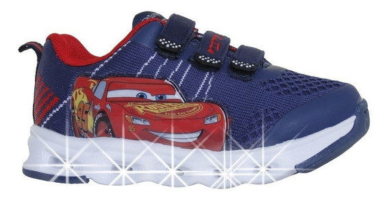 Zapatillas Addnice Flex Extreme Cars Azul Envío Todo El País