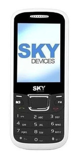 Celular Barato Sky Devices F3g Dual Sim 3g Bluetooth - Novo