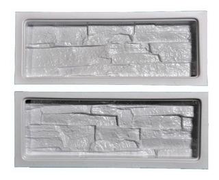 Moldes Plasticos P/f Revest Piedra B Combo(4juegos-8 Moldes)